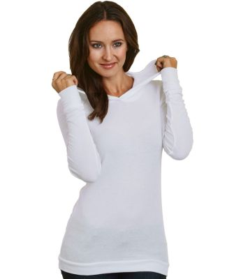 Bayside Apparel 3425 Women's Soft Thermal Hoodie Catalog