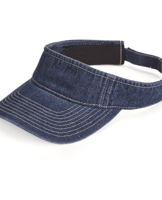 Mega Cap 4029 Washed Denim Visor Catalog