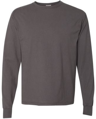Comfort Wash GDH200 Garment Dyed Long Sleeve T-Shi New Railroad Grey