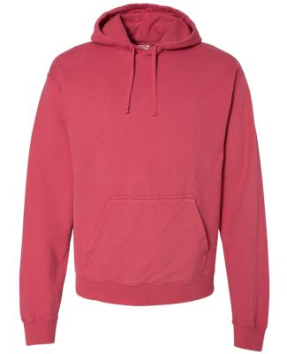 Comfort Wash GDH450 Garment Dyed Unisex Hooded Pul Crimson Fall
