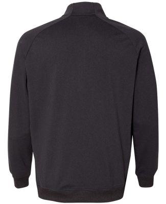 Adidas A270 Quarter-Zip Club Pullover Black Heather