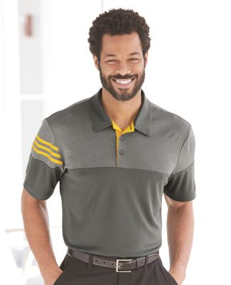 Adidas A213 Heather 3-Stripes Block Sport Shirt Catalog