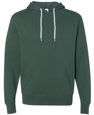 Independent Trading Co. AFX90UN Unisex Hooded Pull Alpine Green