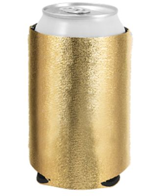 Liberty Bags FT007 Neoprene Can Holder METALLIC GOLD