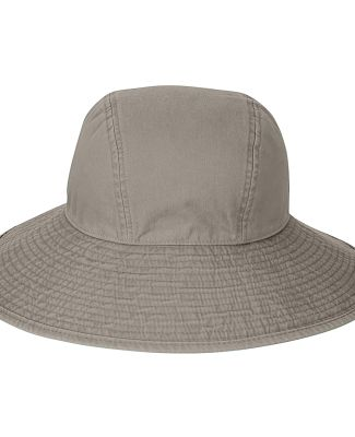 Ladies' Sea Breeze Floppy Hat Stone