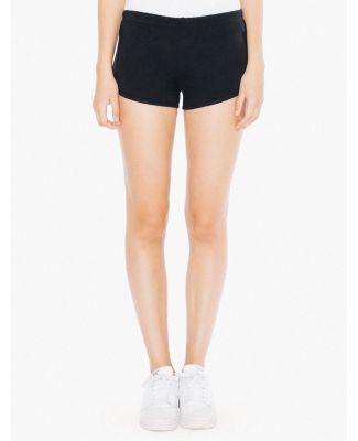 7301W Ladies' Interlock Running Shorts BLACK