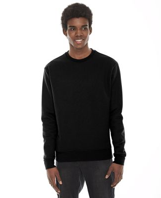 American Apparel HVT427W Unisex Classic Crew Sweat BLACK