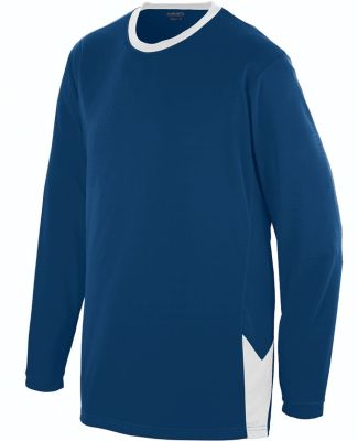 Augusta Sportswear 1718 Youth Block Out Long Sleeve Jersey Catalog