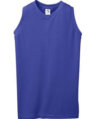 Augusta Sportswear 557 Girls' Sleeveless V-Neck Jersey Catalog