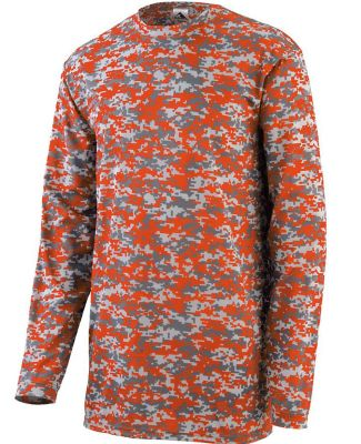 Augusta Sportswear 2789 Youth Digi Camo Wicking Long Sleeve T-Shirt Catalog