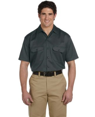 1574 Dickies Short Sleeve Twill Work Shirt  CHARCOAL