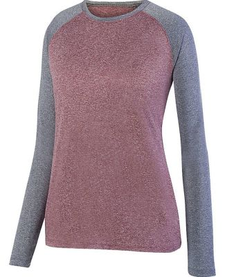 Augusta Sportswear 2817 Ladies Kniergy Two Color Long Sleeve Raglan Tee Catalog