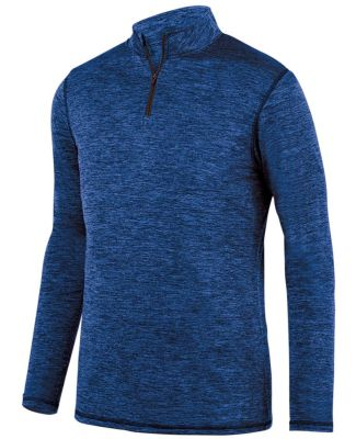 Augusta Sportswear 2955 Intensify Black Heather Quarter-Zip Pullover Catalog