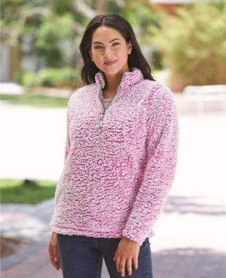 J America 8451 Women's Epic Sherpa Quarter-Zip Catalog