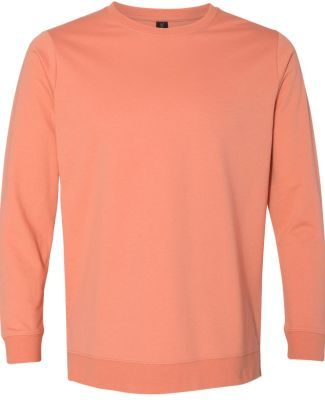 Anvil 73000 Unisex French Terry Crewneck Pullover Terracota