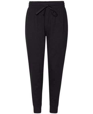 Anvil 73120 French Terry Unisex Joggers Black