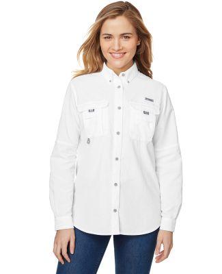 Columbia Sportswear 7314 Ladies' Bahama™ Long-Sl WHITE