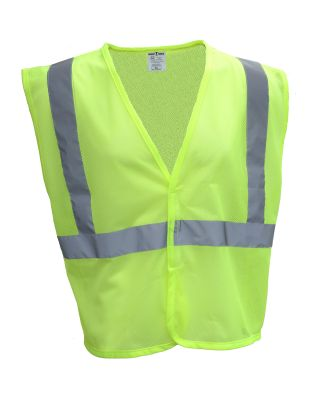 Bright Shield B809 Adult Mesh Vest SAFETY GREEN
