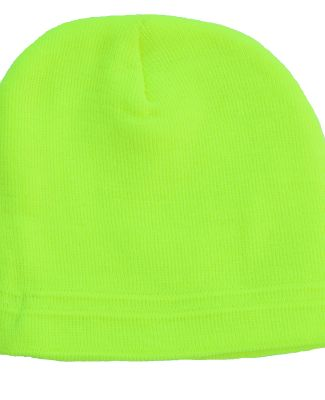 Bright Shield B980 Knit Beanie SAFETY GREEN
