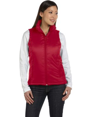 Harriton M795W Ladies' Essential Polyfill Vest RED