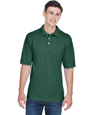 Harriton M265 Men's 5.6 oz. Easy Blend™ Polo HUNTER