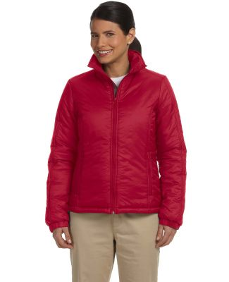 Harriton M797W Ladies' Essential Polyfill Jacket RED