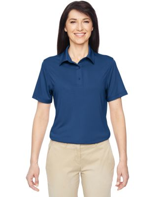 Harriton M410W Ladies' Cayman Performance Polo POOL BLUE