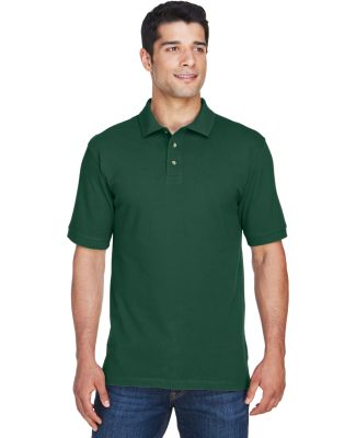 Harriton M200 Men's 6 oz. Ringspun Cotton Piqué S HUNTER