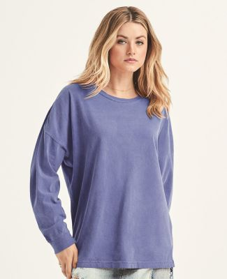 Comfort Colors 6054 Ringspun Cotton Drop Shoulder Long Sleeve Tee Catalog