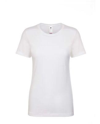 Next Level Apparel 3900A Ladies' Made in USA Boyfr WHITE