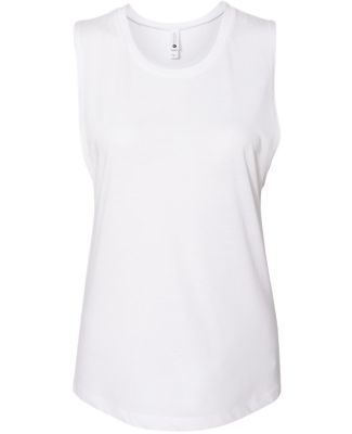 Next Level Apparel 5013 Women's Festival Muscle Ta WHITE
