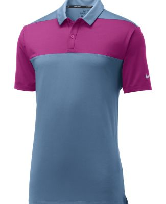 Nike 942881 Limited Edition  Colorblock Polo Thndr Bl/Hp Ma