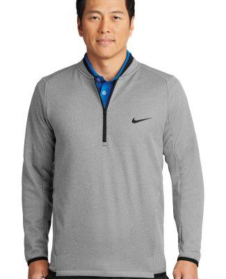 Nike AH6267  Therma-FIT Textured Fleece 1/2-Zip Grey