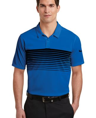 Nike AA1855  Dri-FIT Chest Stripe Polo Game Royal/Blk