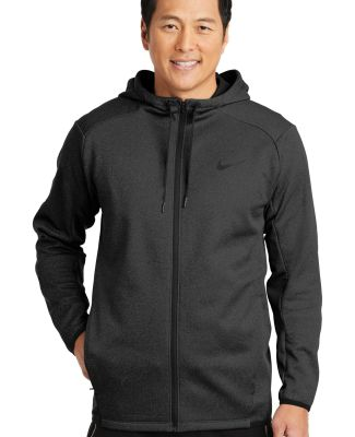 Nike AH6268  Therma-FIT Textured Fleece Full-Zip H Black
