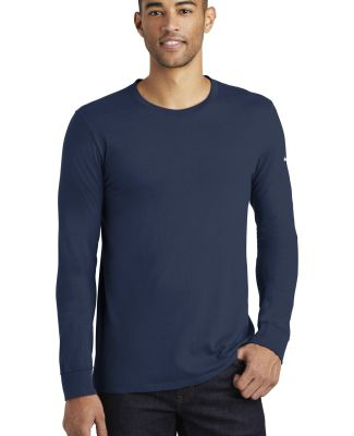 Nike BQ5232  Core Cotton Long Sleeve Tee College Navy