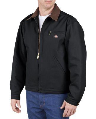 758 Dickies Blanket Lined Duck Jacket  BLACK