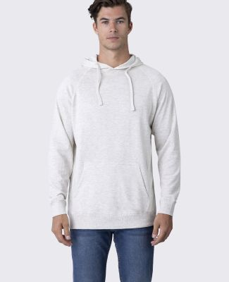 Cotton Heritage M2630 French Terry Pullover Hoodie Oatmeal Heather