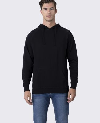 Cotton Heritage M2630 French Terry Pullover Hoodie Black