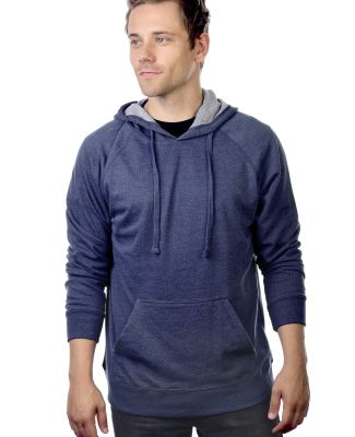 Cotton Heritage M2630 French Terry Pullover Hoodie Denim