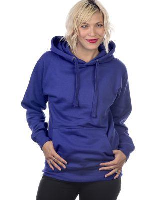 Cotton Heritage M2600 Prem. Pullover Hoodie—Vint Royal