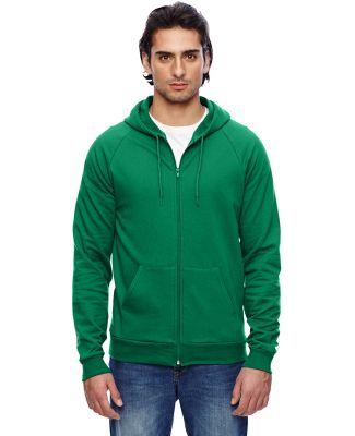 5497 American Apparel Full Zip Hoody KELLY GREEN
