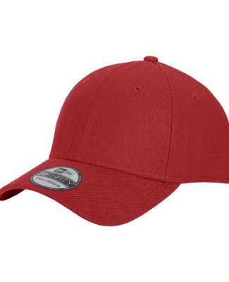 New Era NE1121   Diamond Era Stretch Cap Crimson