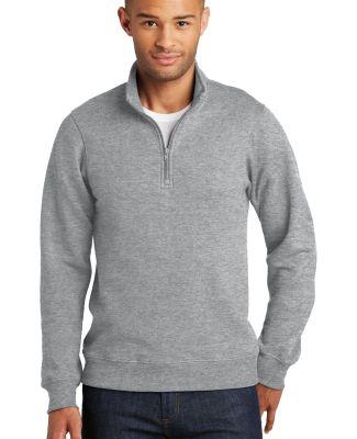 Port & Company PC850Q  Fan Favorite Fleece 1/4-Zip Athletic Hthr