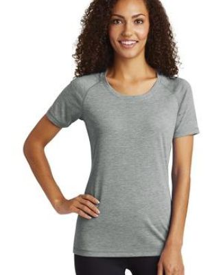 Sport Tek LST400 Sport-Tek® Ladies PosiCharge® Tri-Blend Wicking Scoop Neck Raglan Tee Catalog