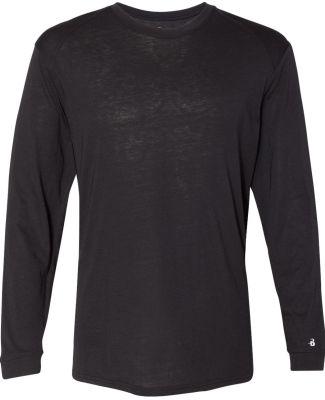 Badger Sportswear 4944 Triblend Performance Long S Black