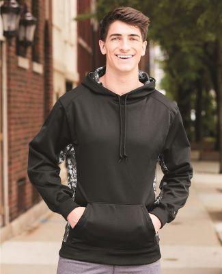 Badger Sportswear 1464 Digital Camo Colorblock Performance Fleece Hooded Sweatshirt Catalog