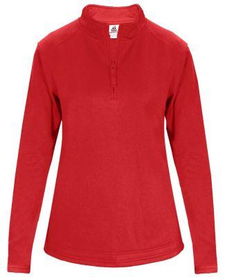 Badger Sportswear 1486 Women's 1/4 Zip Poly Fleece Pullover Catalog