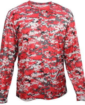 Badger Sportswear 2184 Digital Camo Youth Long Sleeve T-Shirt Catalog