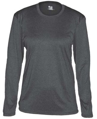 Badger Sportswear 4364 Pro Heather Women's Long Sleeve Tee Catalog